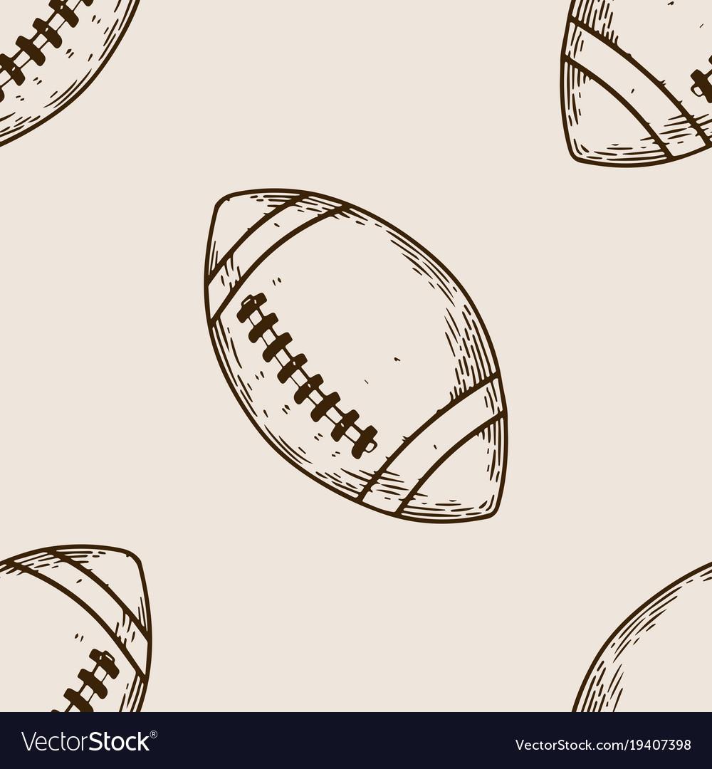 American football equipment engraving