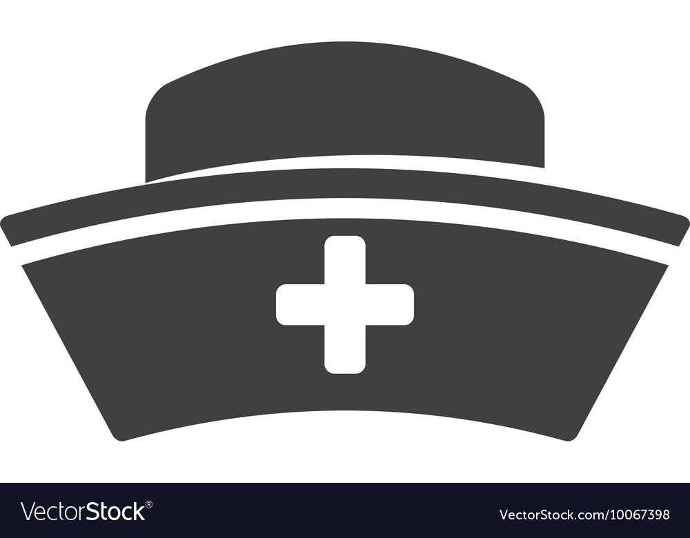 Nurse Hat Icon Medical Care Design