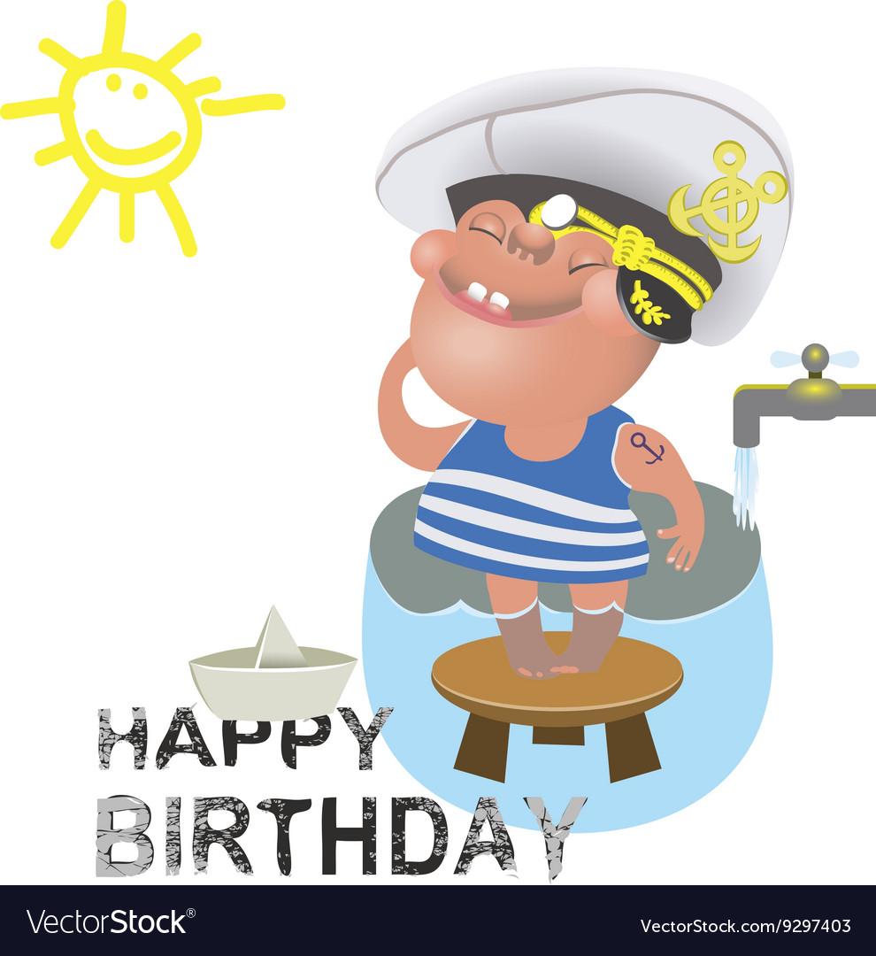 Открытки для моряков с днем рождения