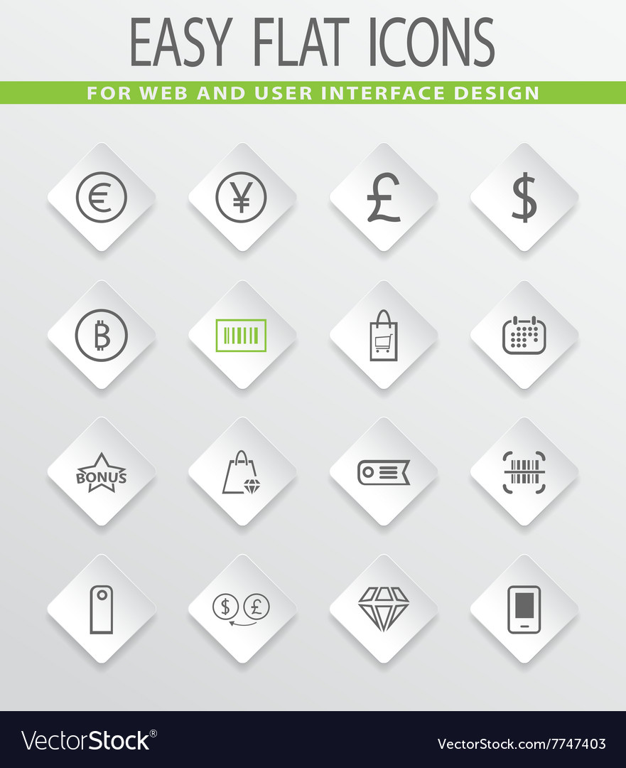 E commerce icons set royalty free vector image e commerce icons set vector image altavistaventures Images