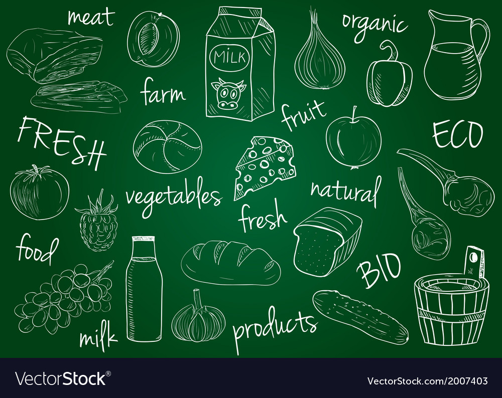 Farm products doodles school board