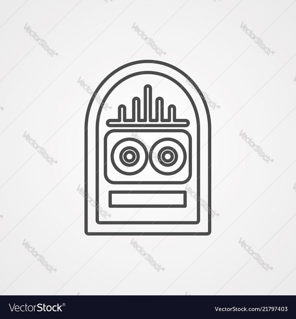 Jukebox icon sign symbol