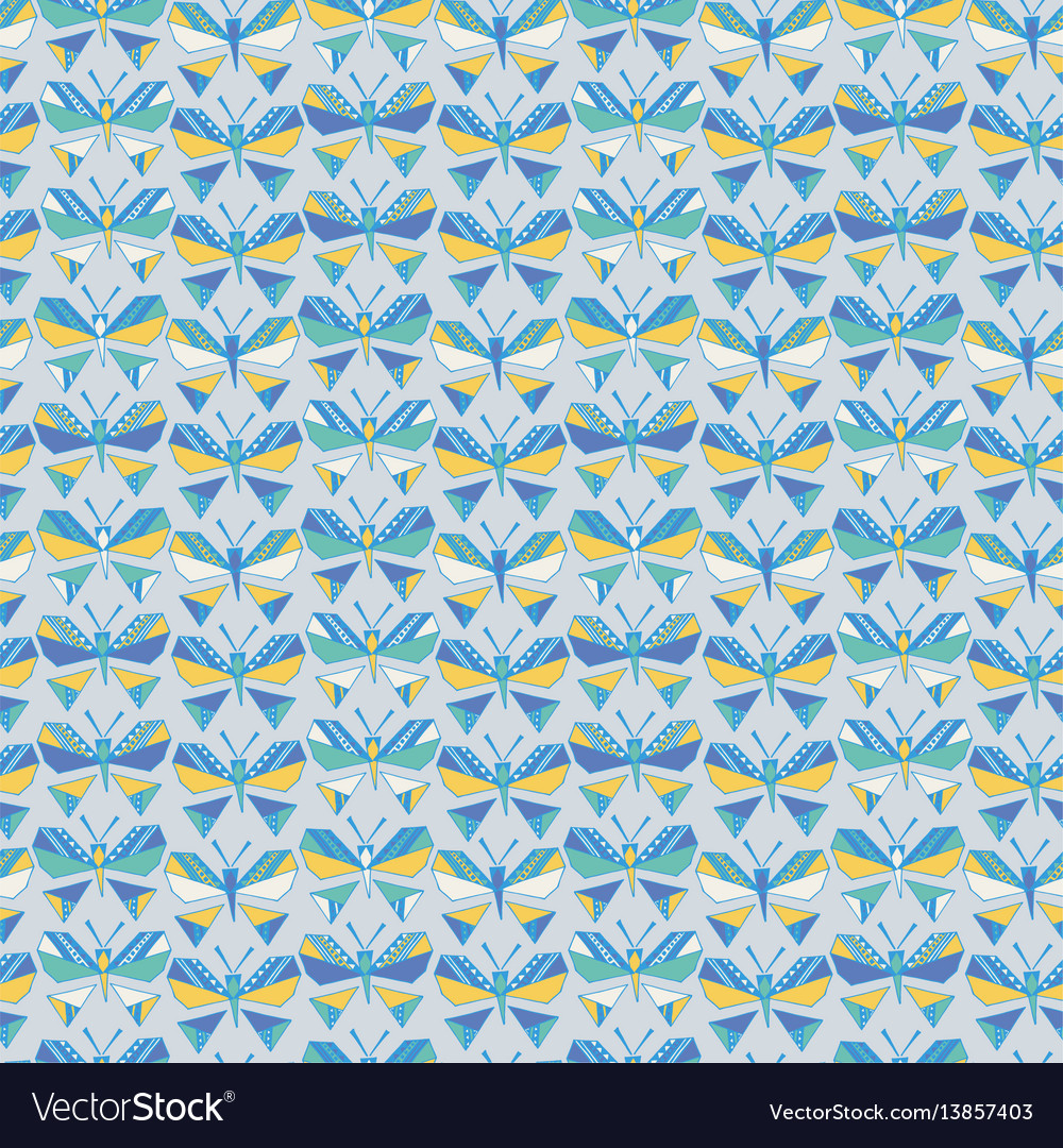 Seamless background butterfly pattern