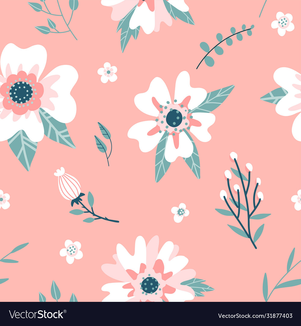 Seamless pattern with a dogrose flowers rosehip