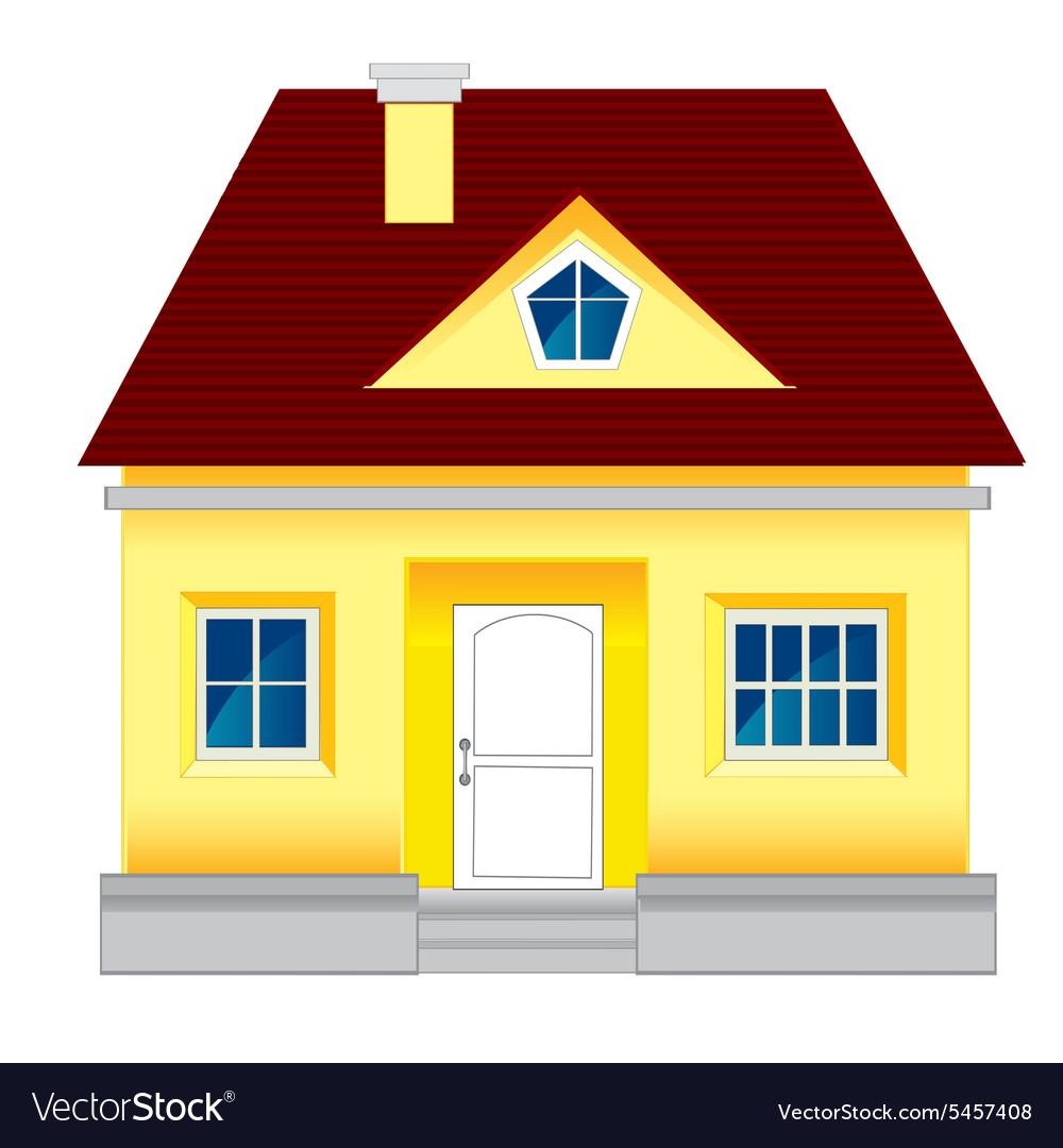 Картинка дома с фундаментом для детей