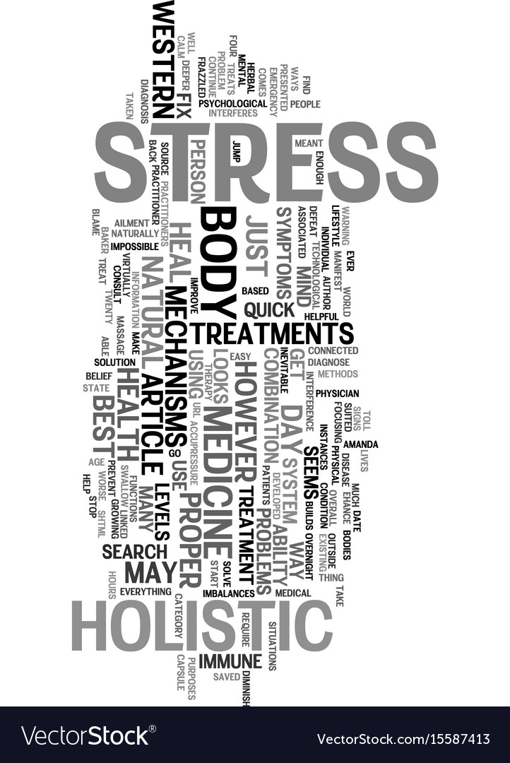 Your stress levels text word cloud concept