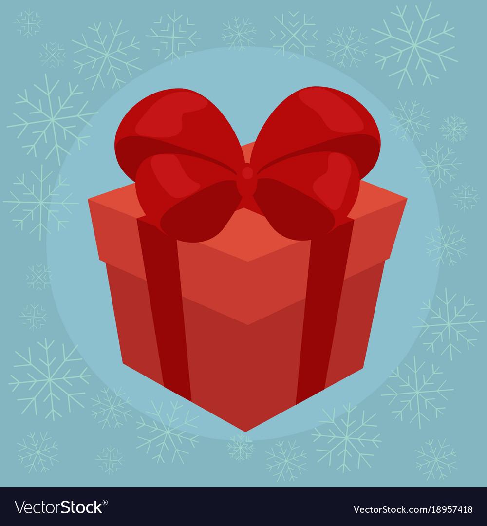 Christmas gift flat