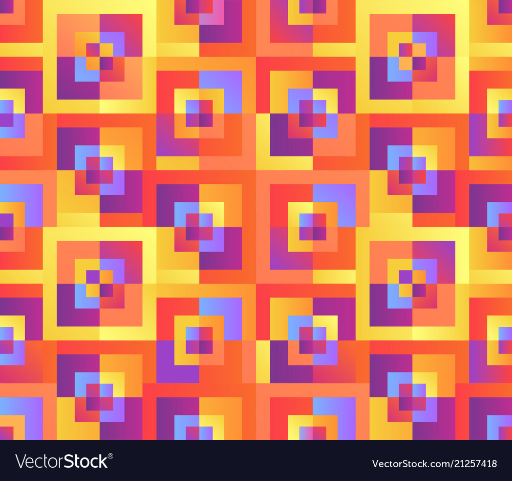 Colorful mosaic geometrical cover design