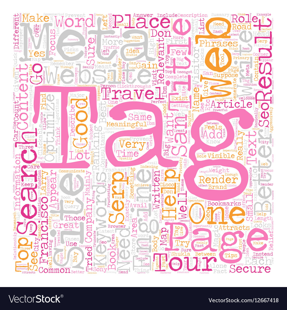 Role of Meta Title Tag in SEO text background