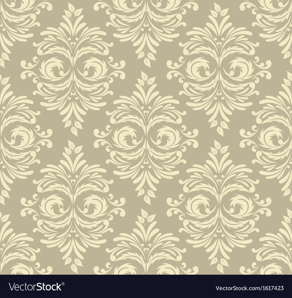 Abstract damask pattern