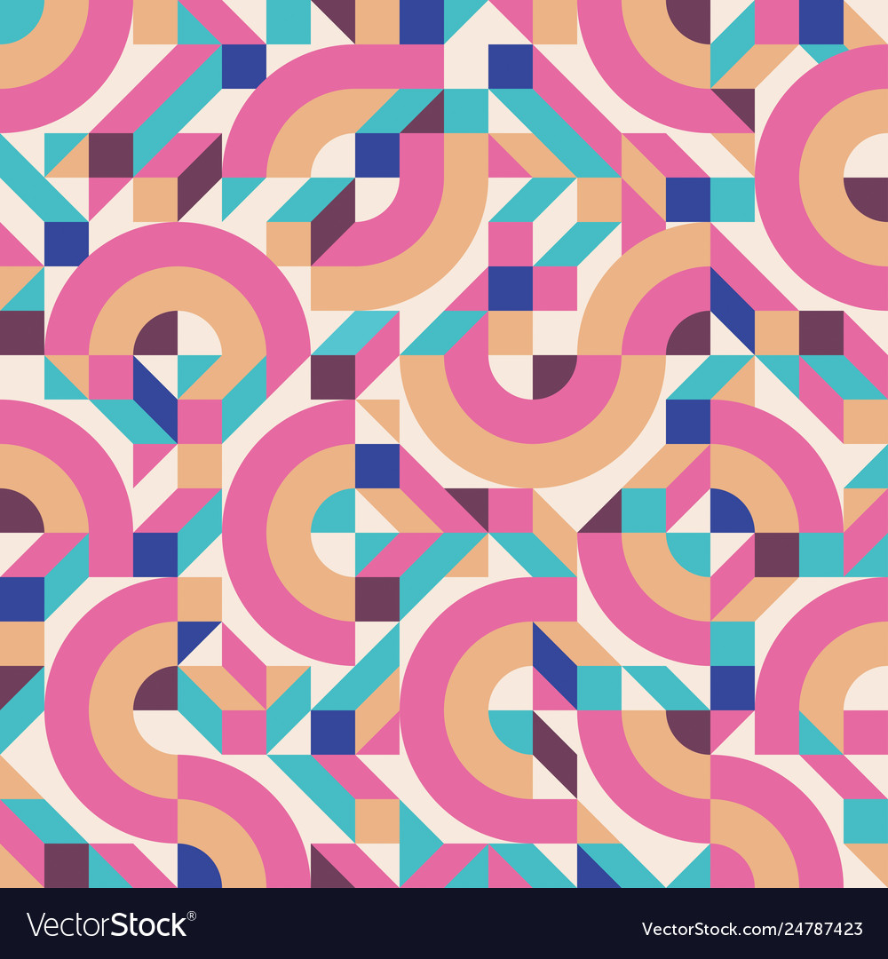 Abstract geometric background seamless
