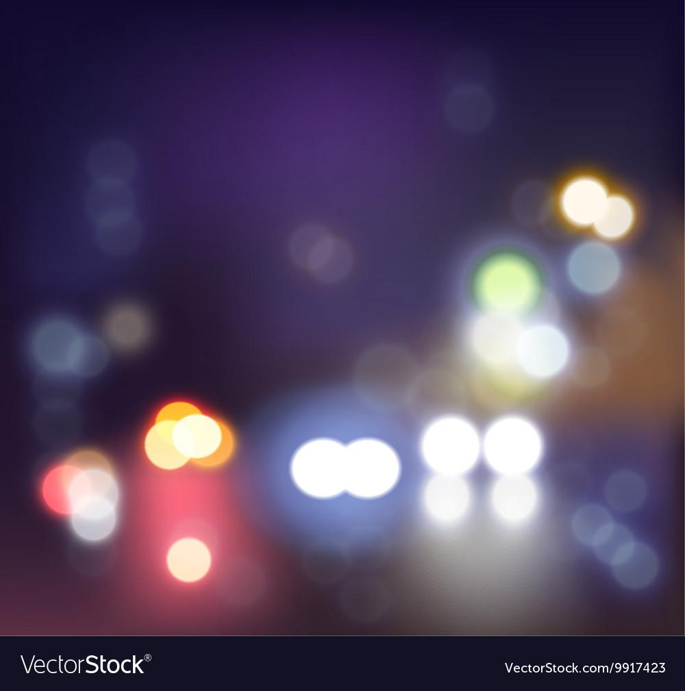 Realistic festival lights vector image