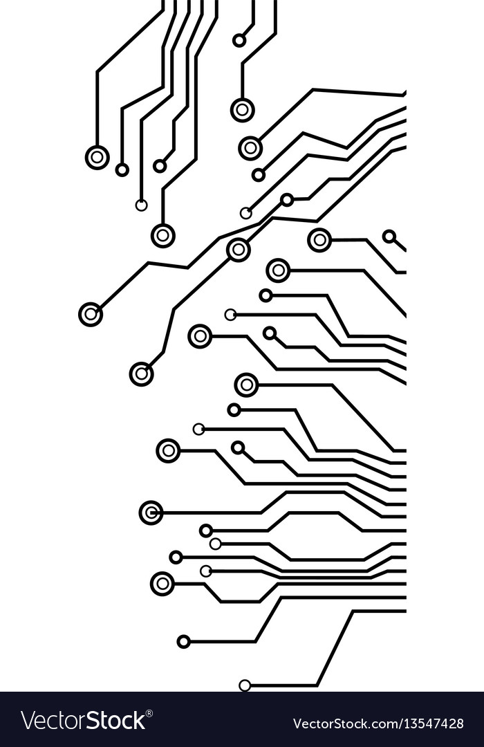 Figure electrical circuits icon Royalty Free Vector Image