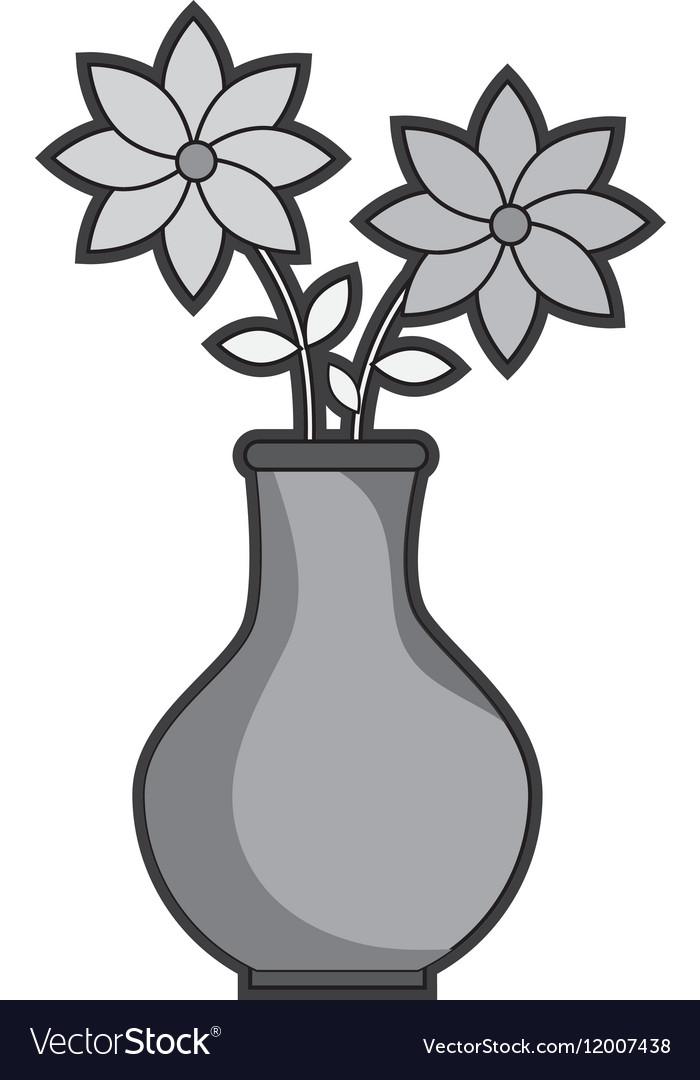 Flower vase isolated icon Royalty Free Vector Image on flower garden stencils, mug stencil, pitcher stencil, tulip flower stencil, mirror stencil, flower leaves stencil, flower basket stencil, lantern stencil, necklace stencil, furniture stencil, spoon stencil, cup stencil, box stencil, flower frame stencil, flower tattoo stencils, floral stencil, flower vases with flowers, chair stencil, jar stencil, flower water stencil,