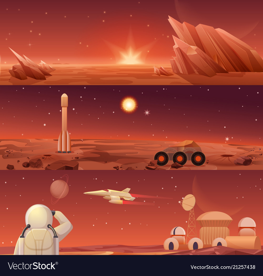 Red planet mars colonization and exploration
