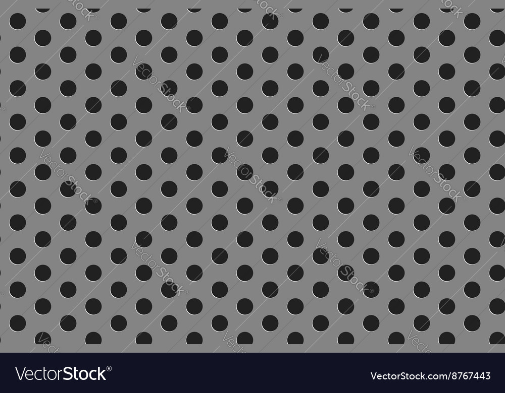 Steel grill seamless pattern vector image