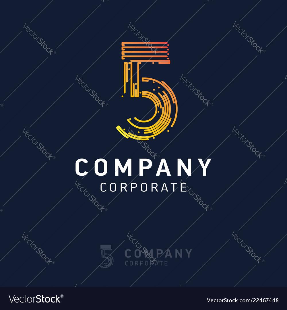 5 company logo design