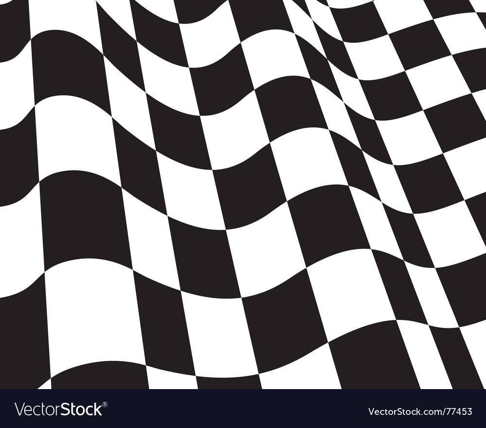 checkered flag royalty free vector image vectorstock rh vectorstock com checkered flag vector eps checkered flag vector art