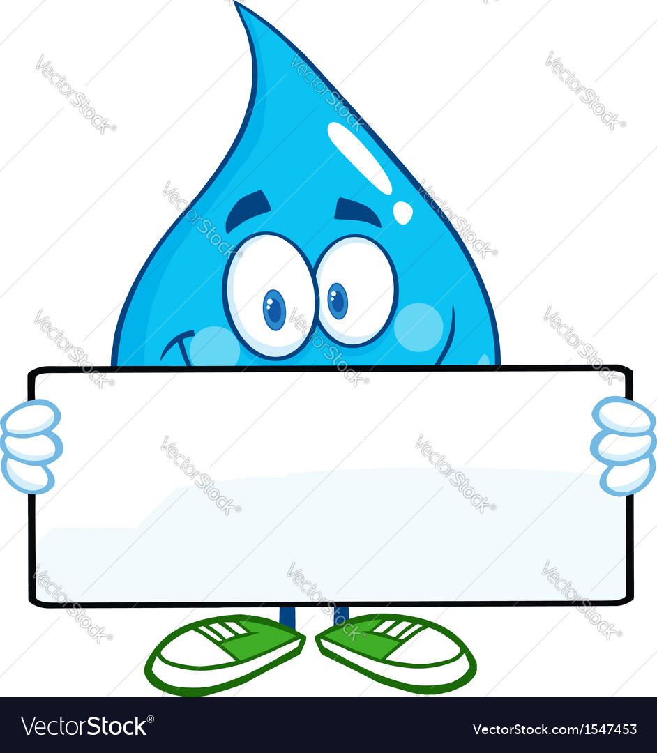 water droplet cartoon character royalty free vector image rh vectorstock com wally water droplet cartoon water droplet cartoon