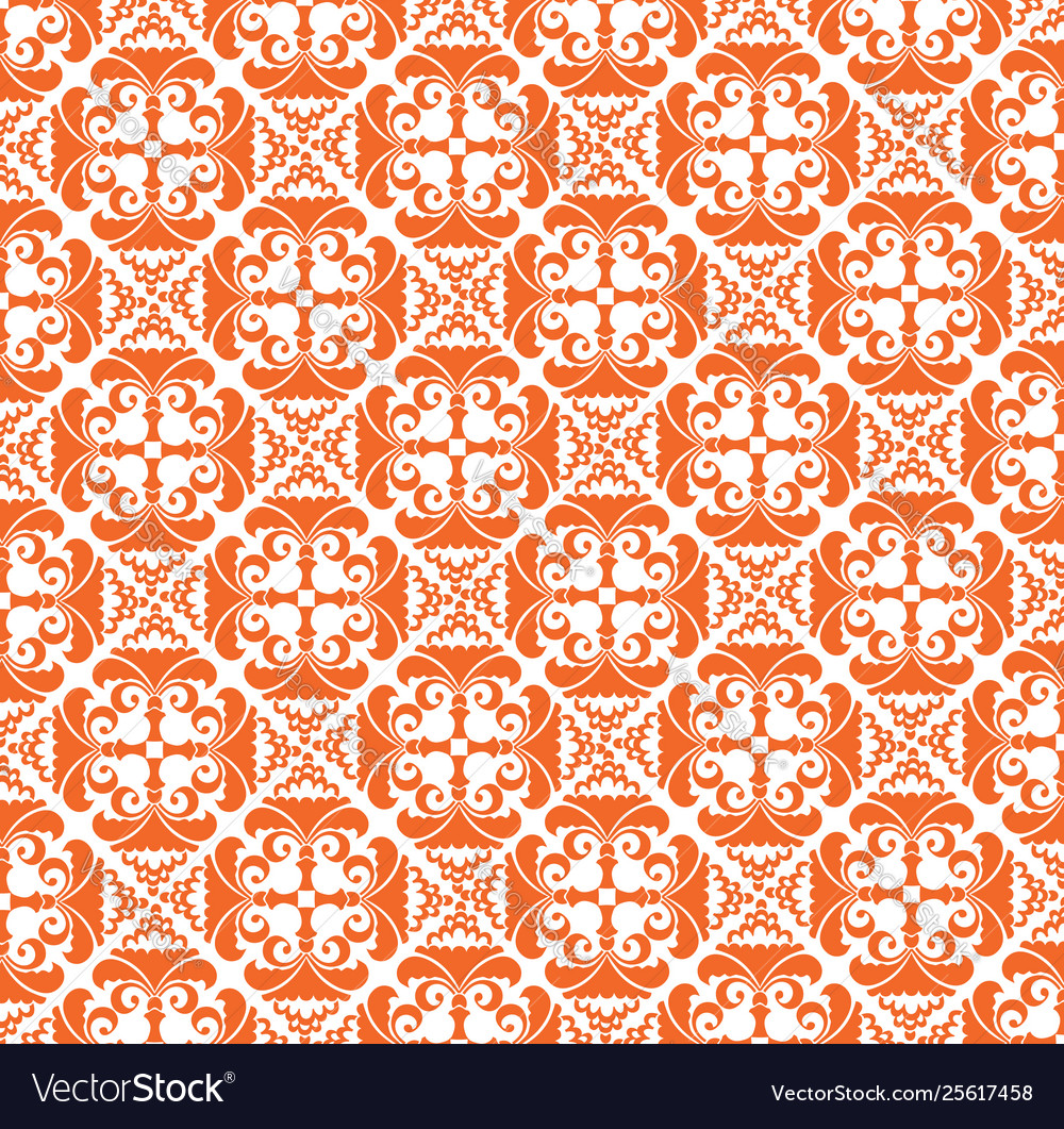 Abstract floral pattern stylish geometric