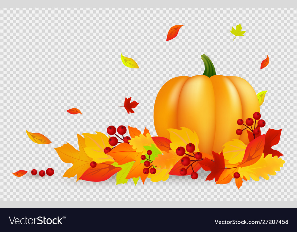 Autumn background thanksgiving banner with