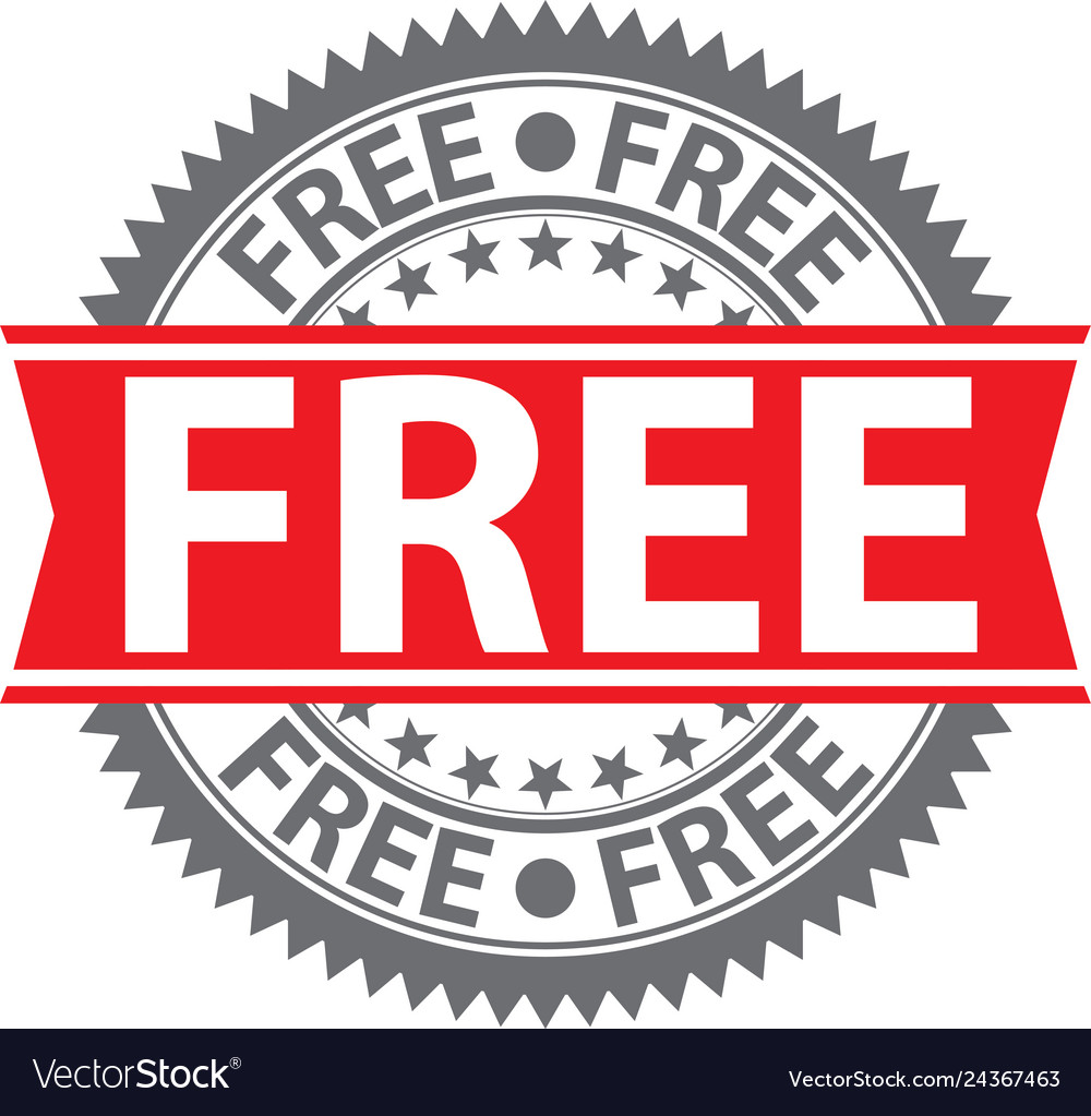 Free sign free badge