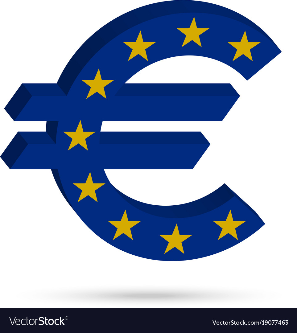 Surround The Euro Sign Royalty Free Vector Image