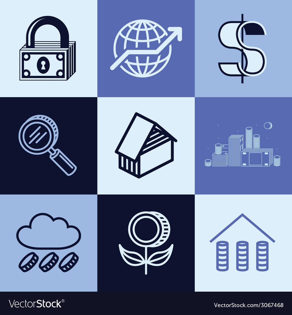 Finances logo icons