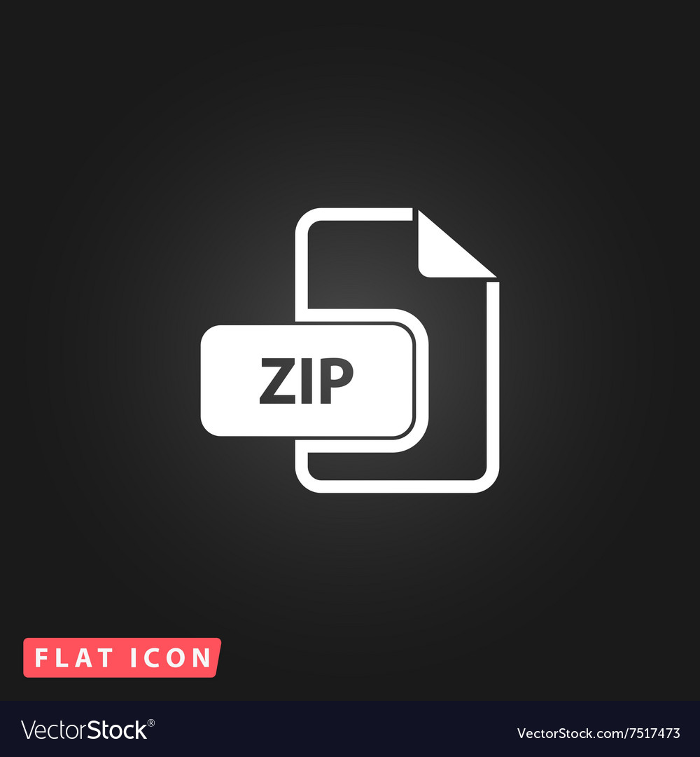 ZIP archive file extension icon