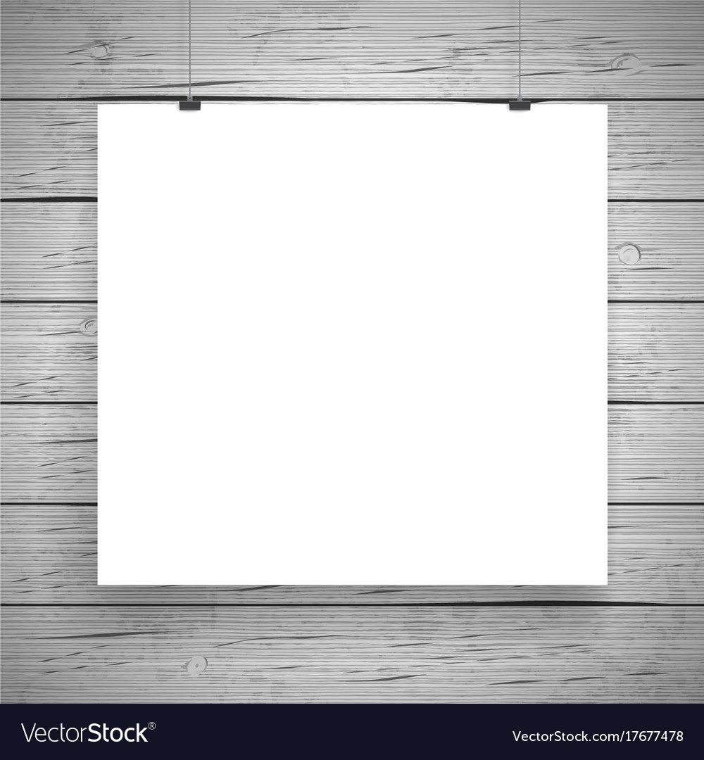 blank paper poster vintage background royalty free vector