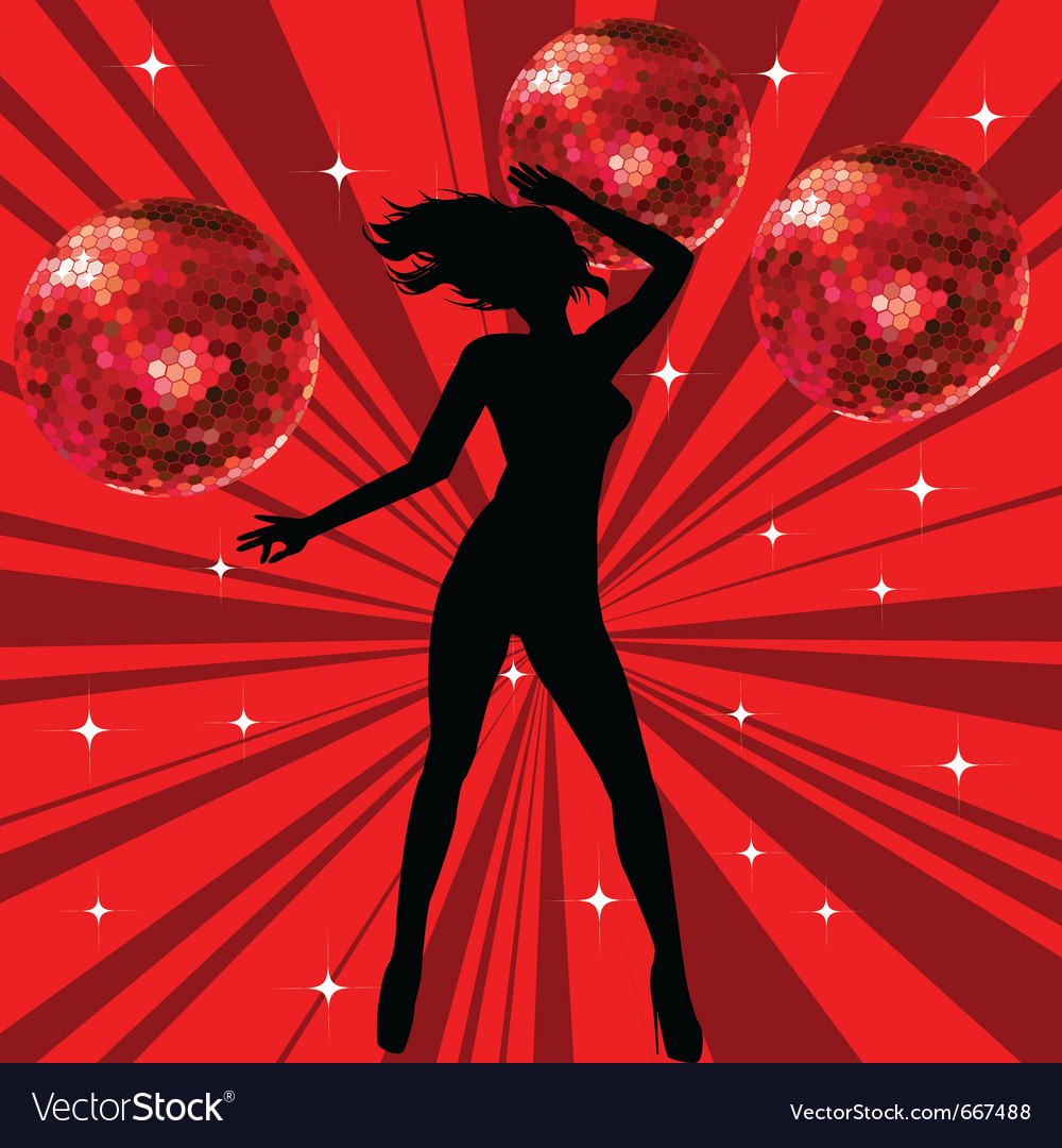 Sexy female dancing