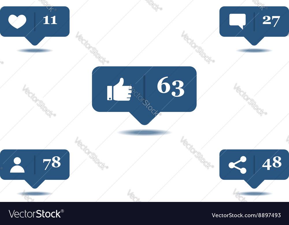 Social media hover