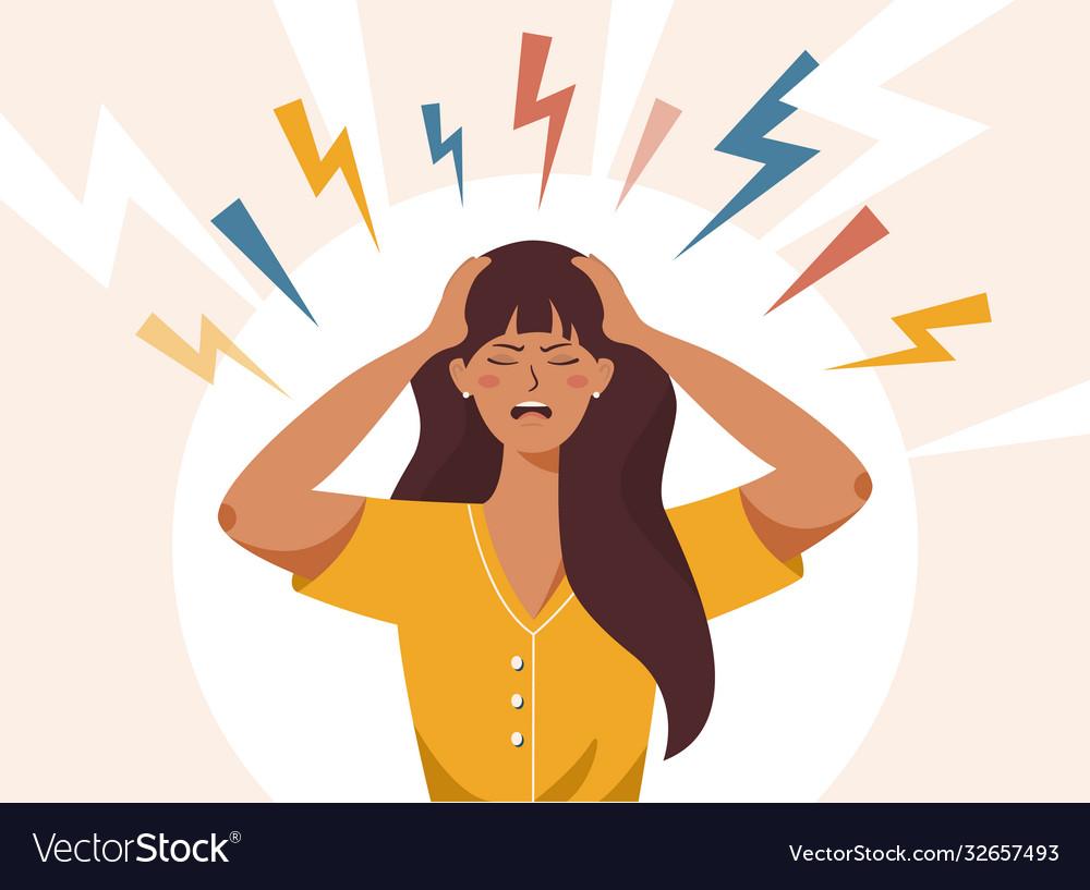 Stress irritation factors female bad mood anger