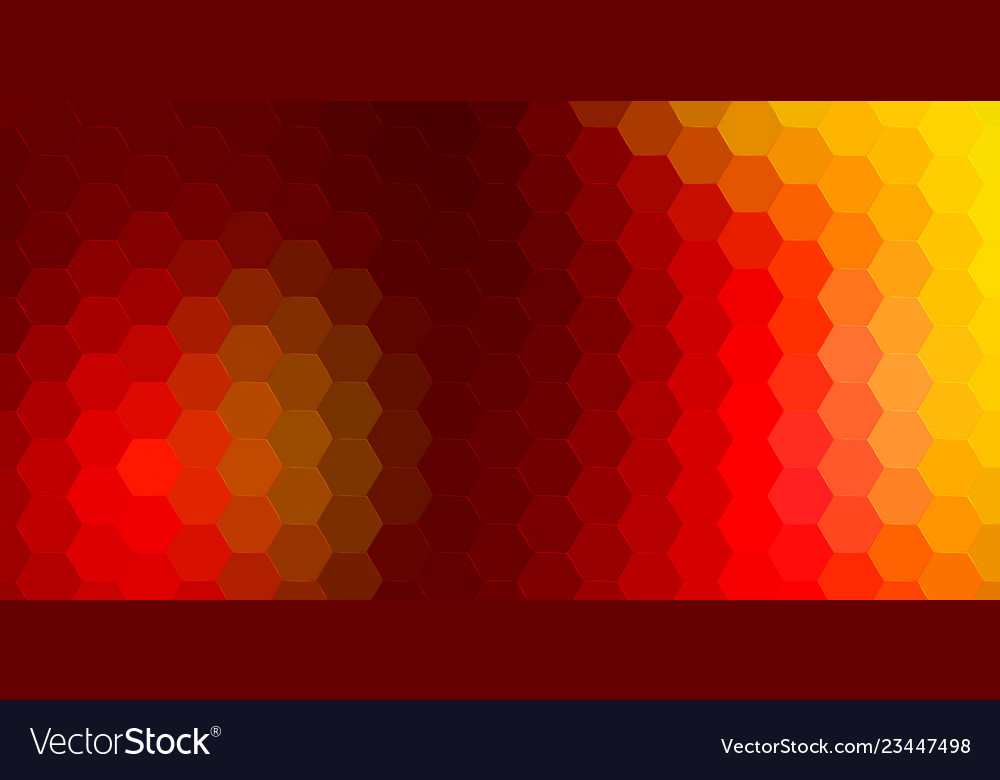 Abstract hexagonal background geometric