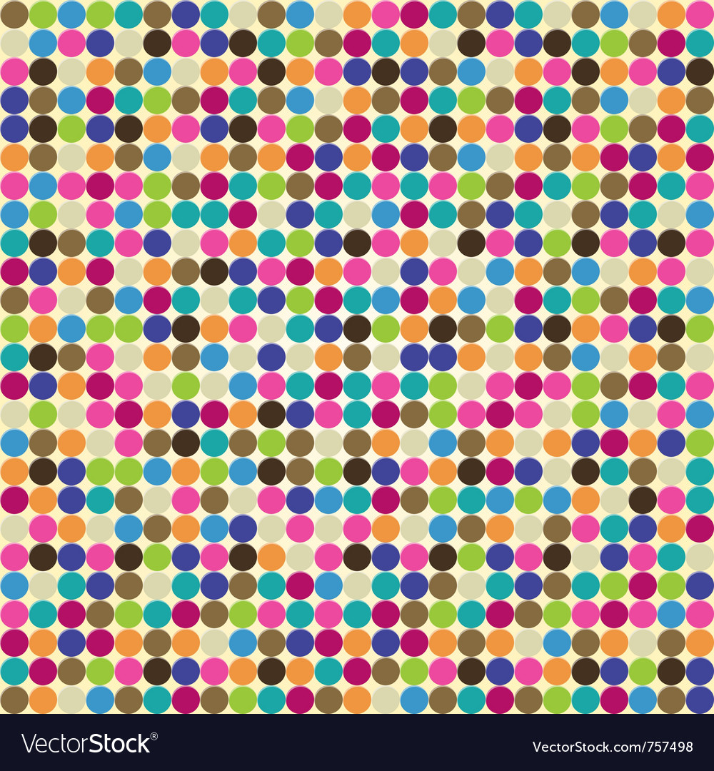 Circle abstract pattern