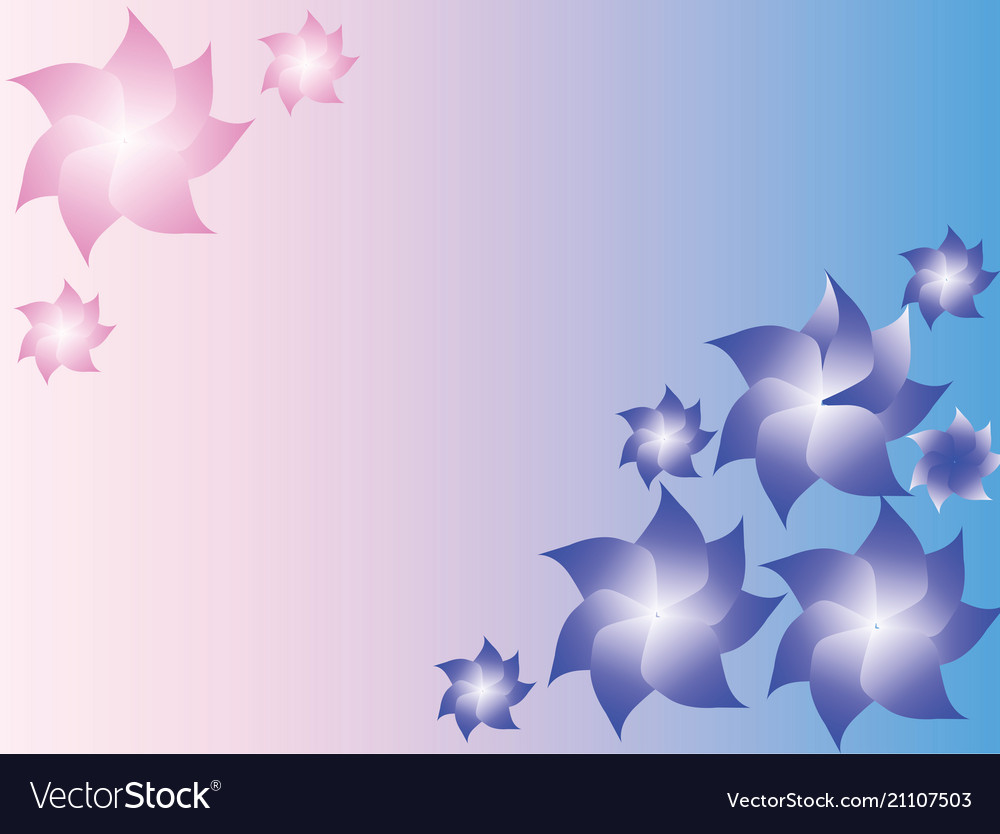 Soft blue and pink background