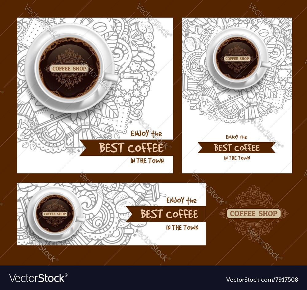 Coffee Print Template