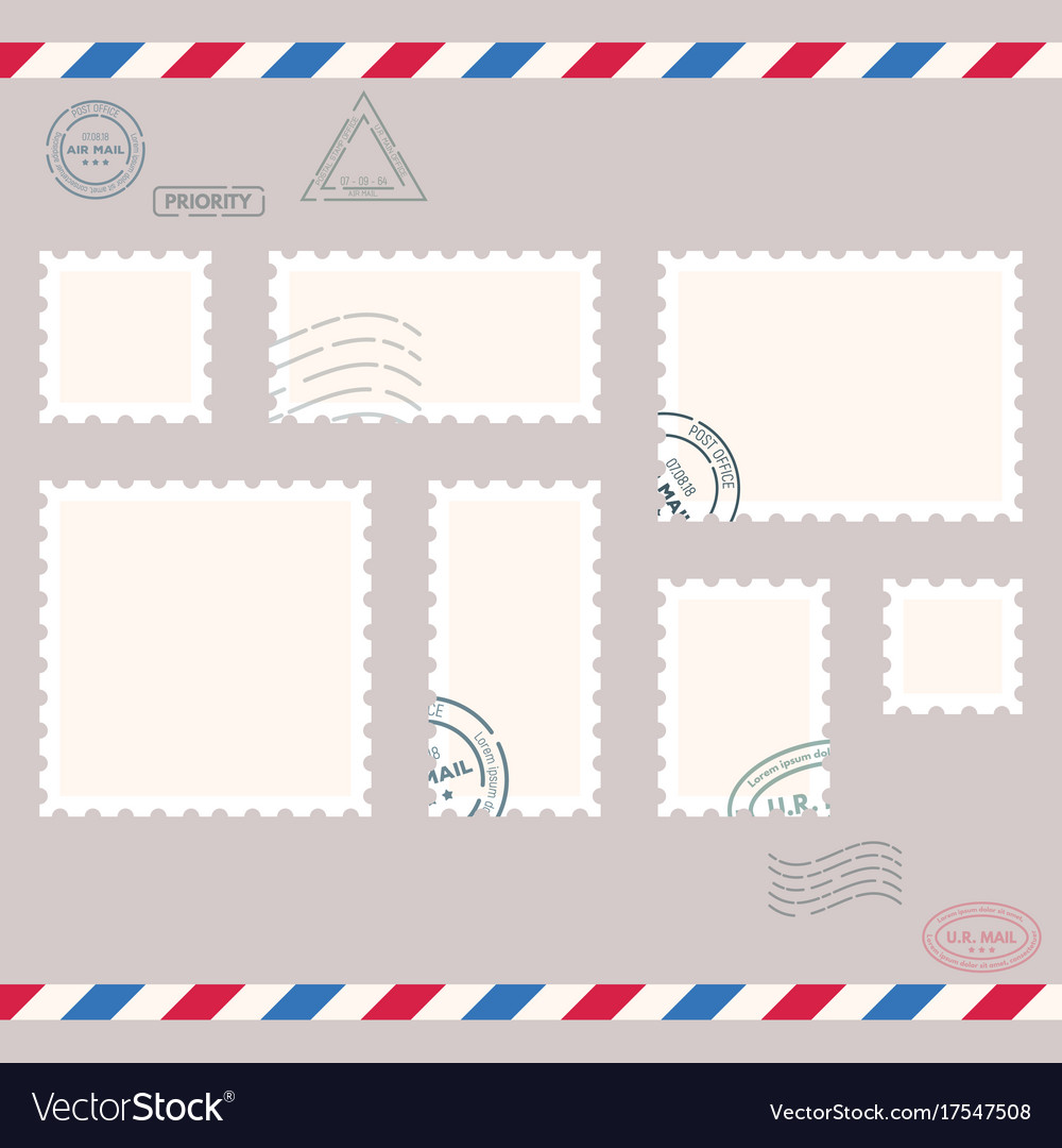 Small post stamps