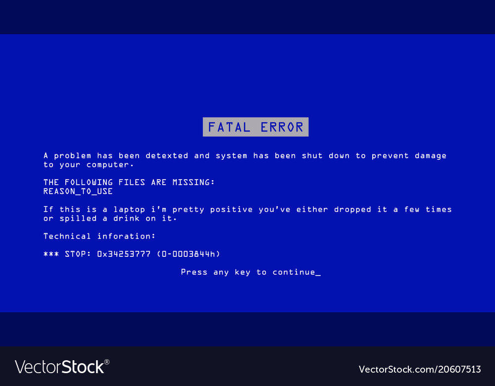 how to stop blue screen of death
