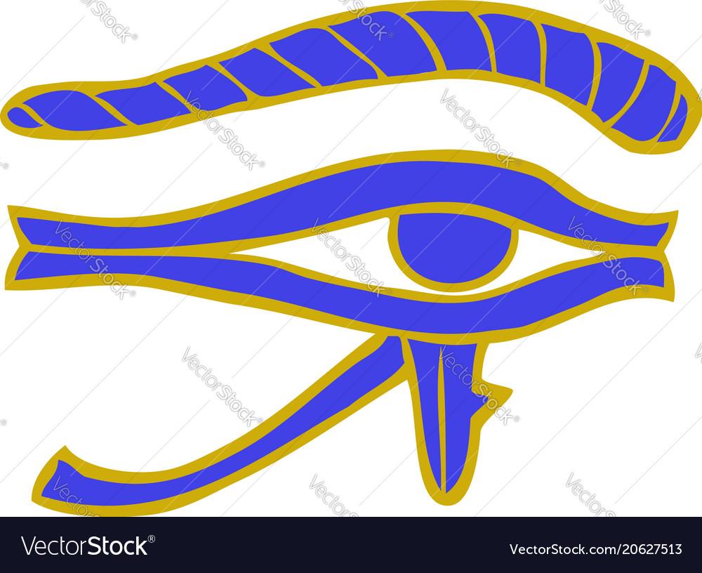 Doodle egyptian eye