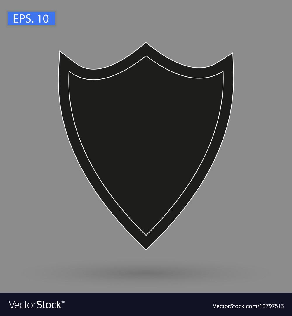 Image icon black shield