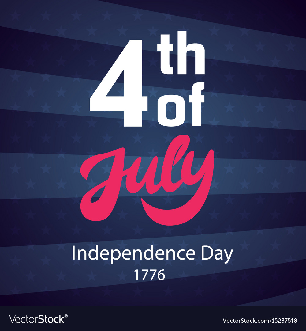 4th of july retro poster template royalty free vector image 4th of july retro poster template vector image maxwellsz