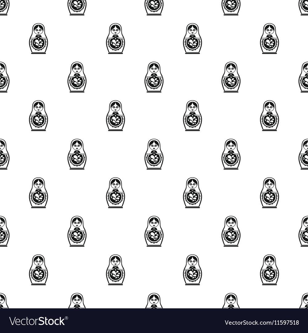 Matryoshka pattern simple style
