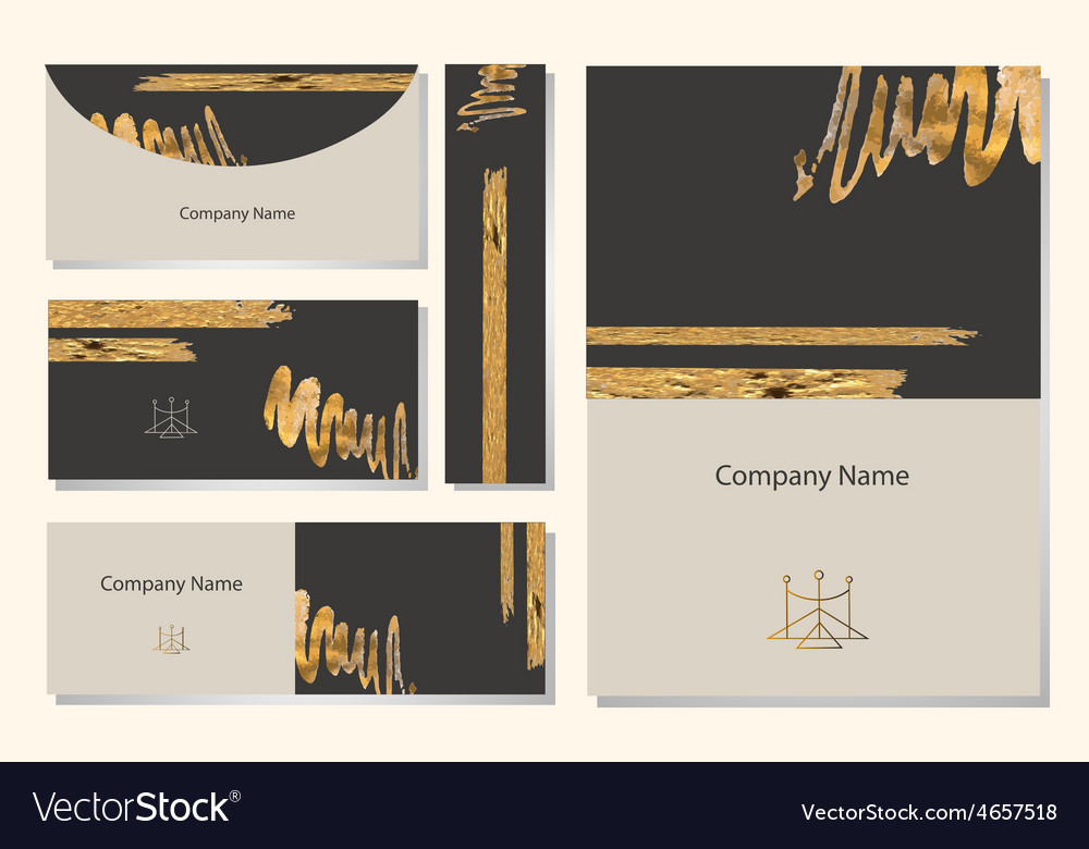 Set of templates