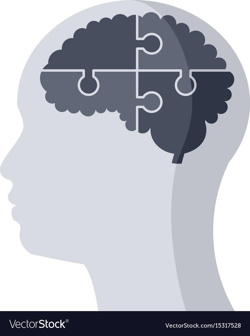 Psychiatry medical icon vector image
