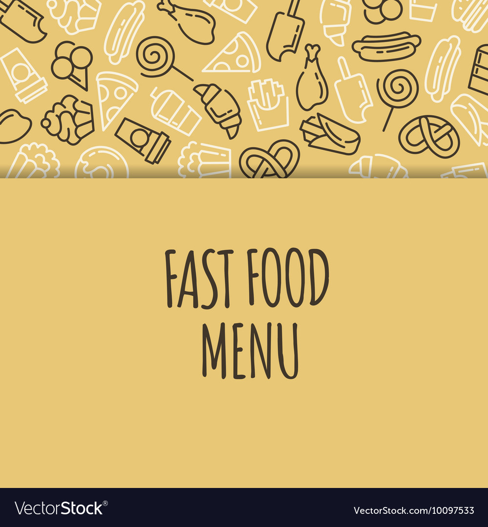 Food Menu Background