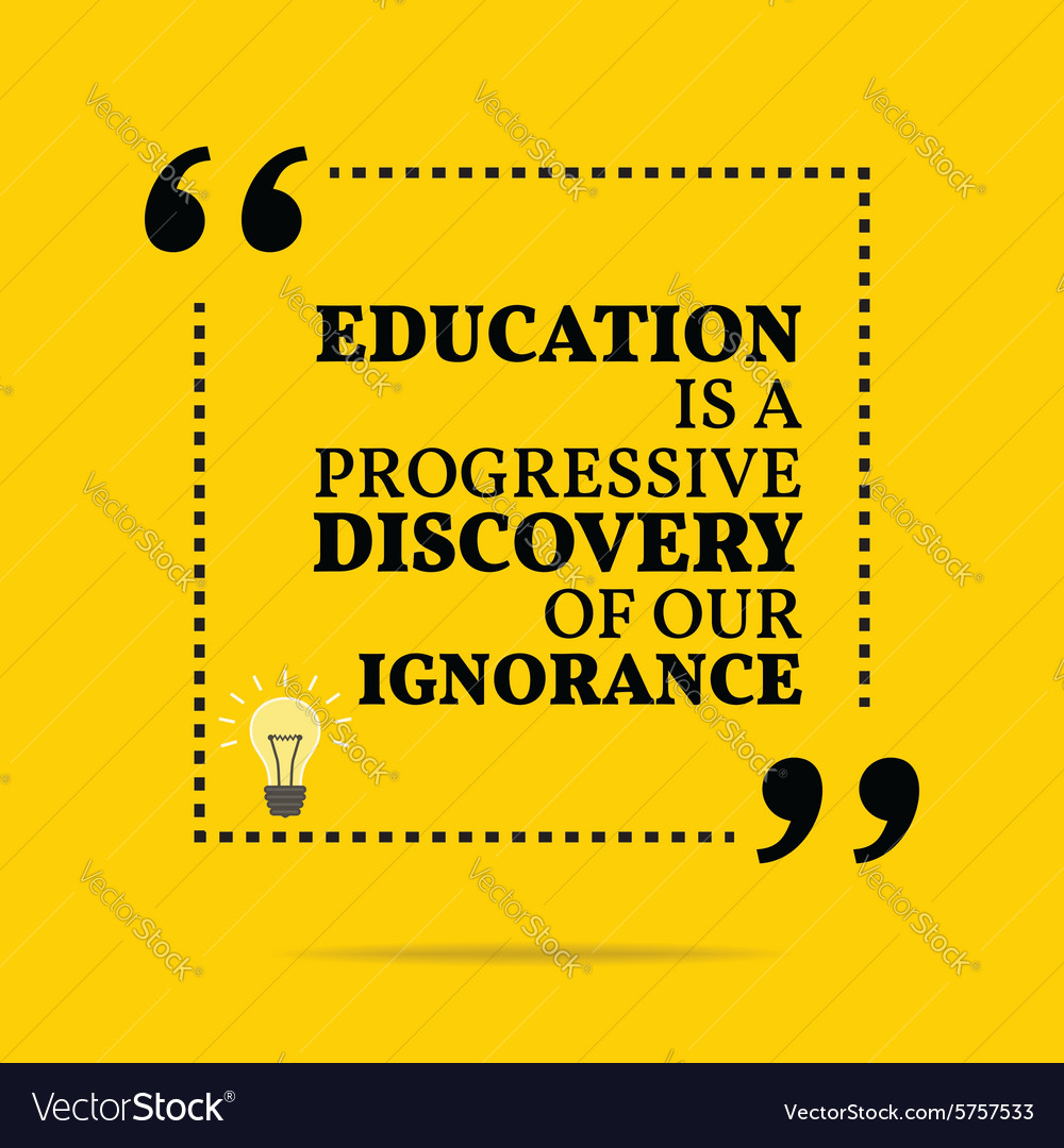 Inspirational Quotes About Education   Inspirational Motivational Quote Education Is A Vector Image