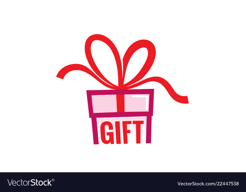 Gift love abstract logo