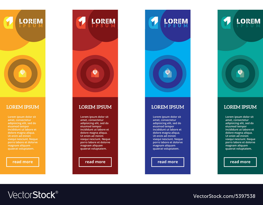 Website banners template