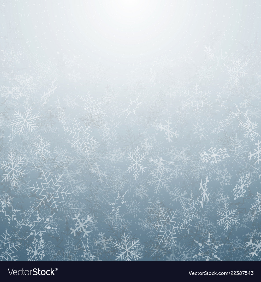 Abstract of christmas snowflakes movement pattern